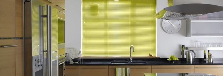 Toying with the idea of yellow venetian blinds...what do you think?