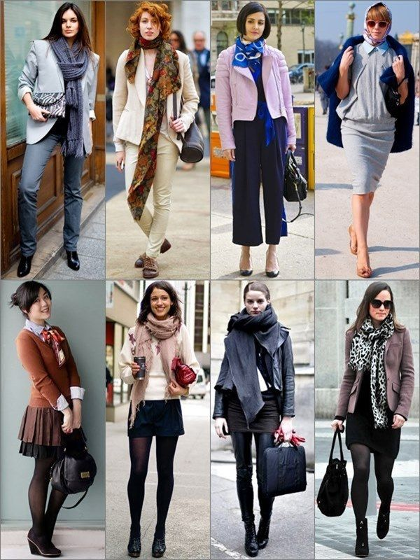 scarf tie wear different ways styles outfits scarves suit casual formal smart many jacket suits seen semi blazers gorgeautiful