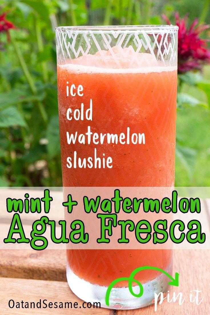 Mint Watermelon Agua Fresca