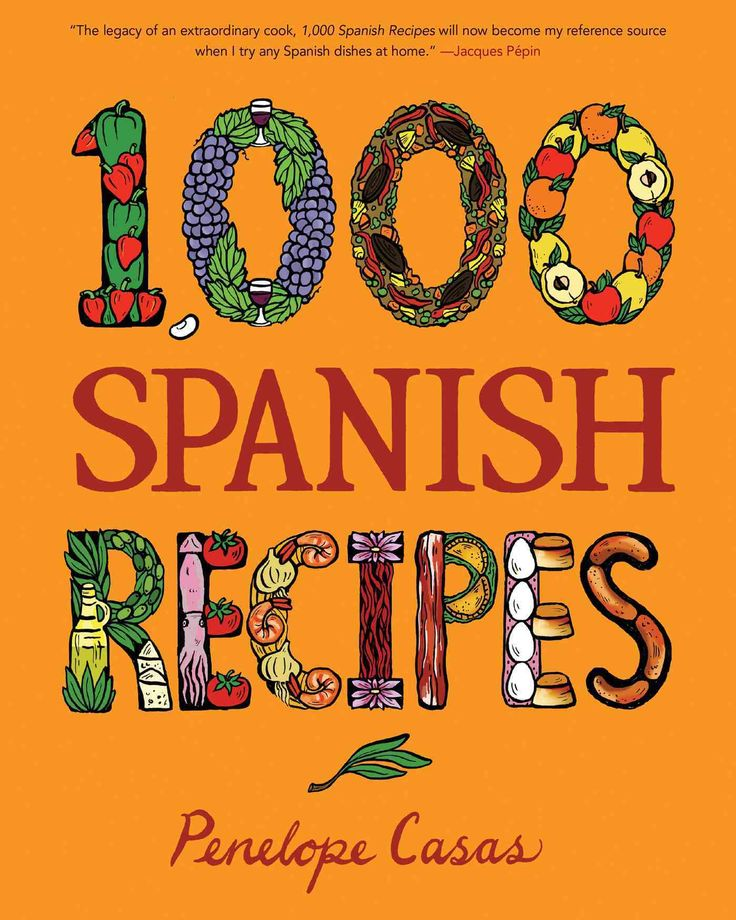 1,000 Spanish Recipes (Hardcover)