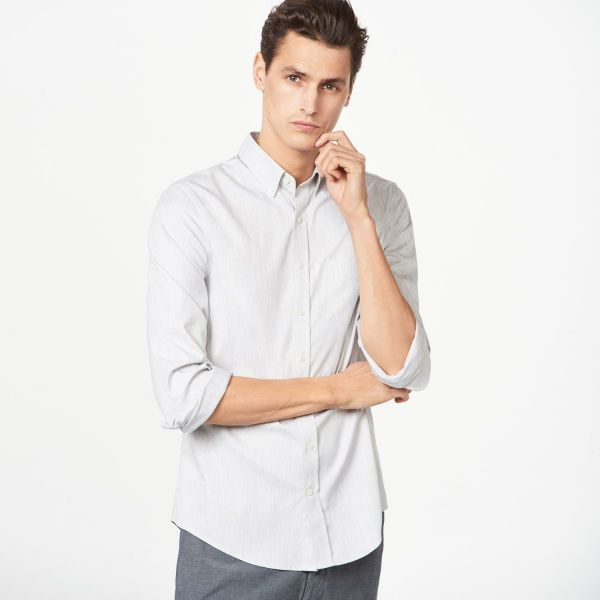 GANT Diamond G - The Pinpoint Oxford Fitted Shirt for Men's | Official Site