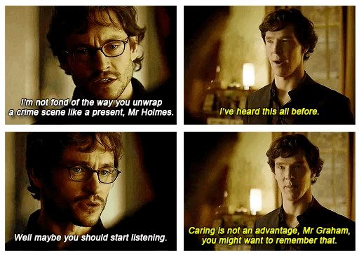 """(gif set) """"Well maybe you should start listening."""" 