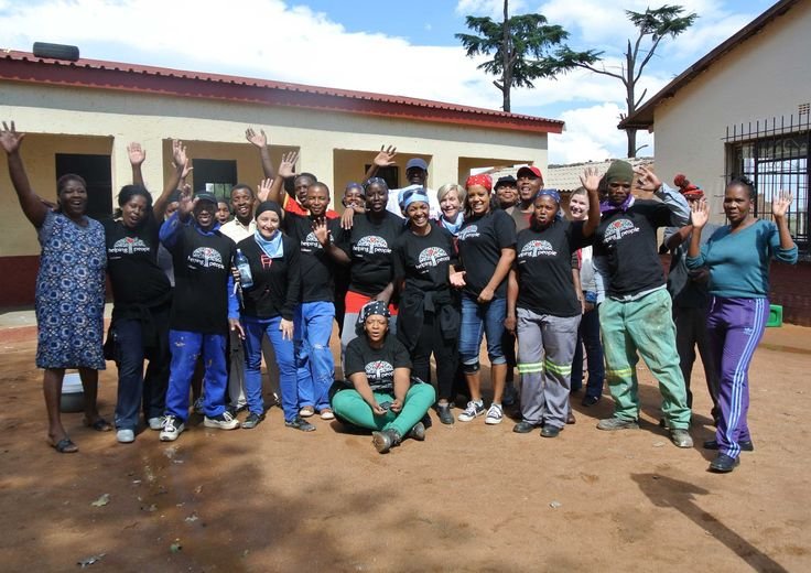 Our volunteers have such big hearts! #SchoolRefurb #RiversChurch