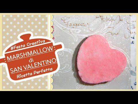 CARAMELLE MARSHMALLOW DI SAN VALENTINO - Ricetta Perfetta ♥ Festa Creativa #2