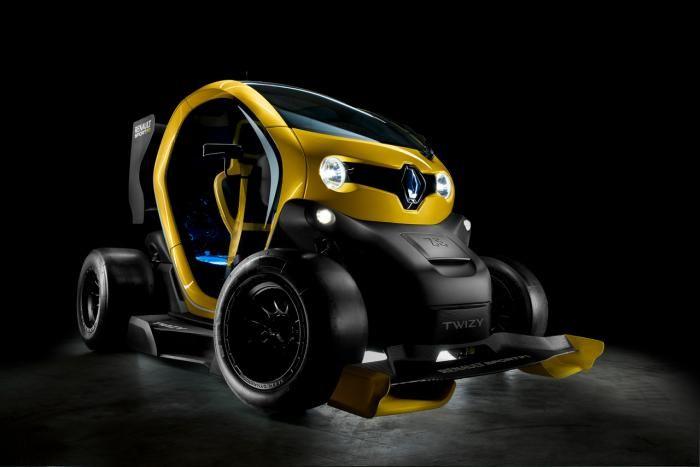El futuro Twizy Renault Sport F1