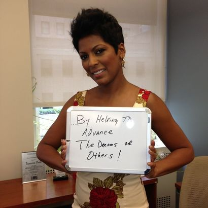 Tamron hall is advancingthedream by helping to advance for Die hard tattoo albany oregon