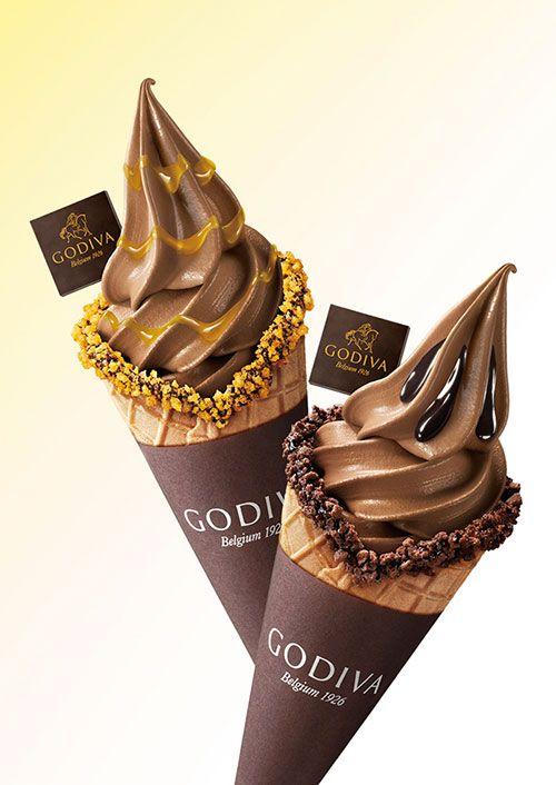 ゴディバ、バナナ&マンゴーをトッピングした限定ソフトクリーム発売 | ニュース - ファッションプレス
