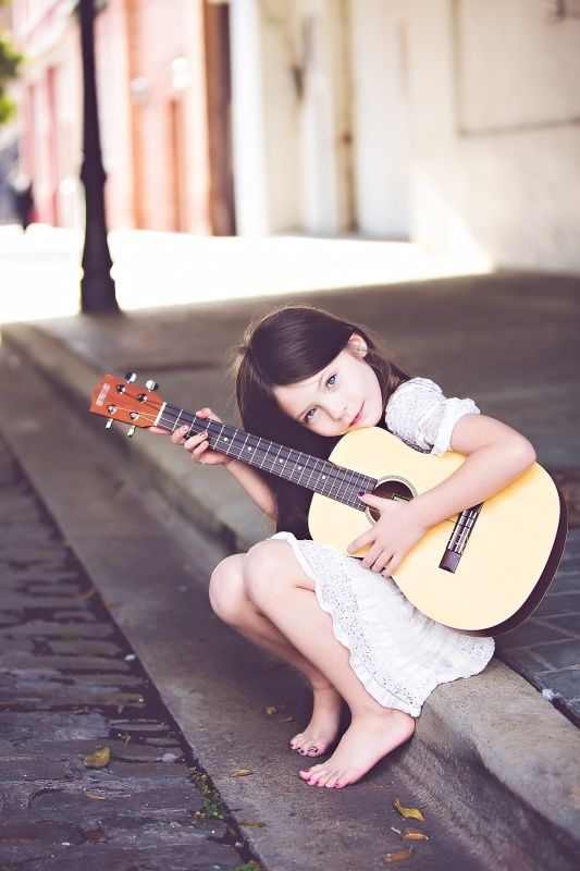 .I will be teaching all of my children how to play... and playing for their daddy when he's tired after a hard day of work.
