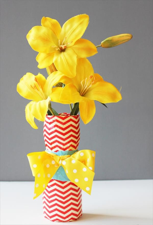 Easy Duct Tape Vase Project: DIY Tutorial | 101 Duct Tape Crafts