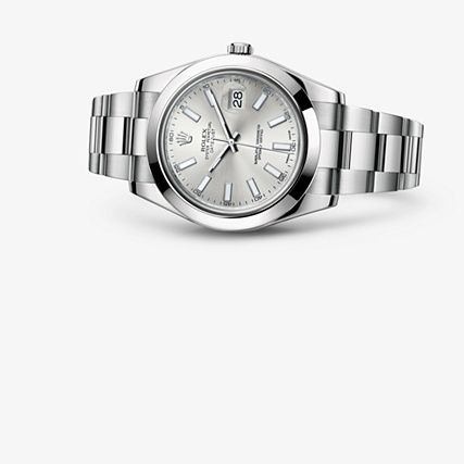 Check out this amazing Rolex Datejust II watch from the Oyster Collection!! For more information regarding this timepiece, please be sure to visit http://www.cdpeacock.com/.