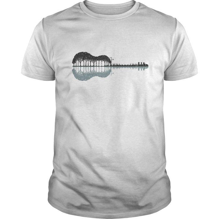 Guitar shirt guitar shadow lake shirt - Tshirt