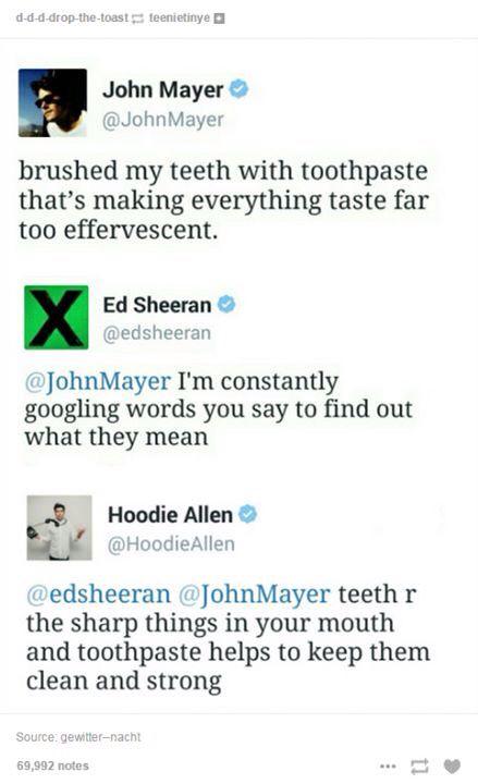 Hoodie Allen you're my favorite