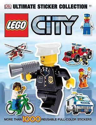 Packed With Colourful Images And Easy Peel Stickers This Collection Features More Than 1000 From The LEGOR City Line Of Toys