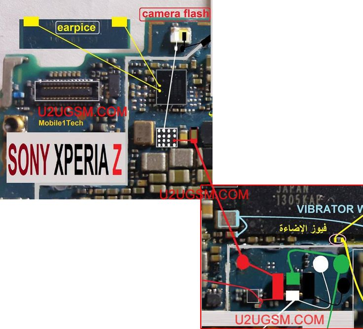Sony Xperia Z C6602 Camera Flashlight Not Working