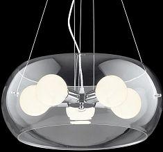 Toppmodern Takpendel 5x Ljuskällor / Glas