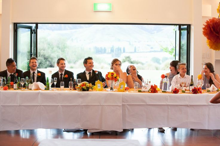 Head table @ The Lookout Lodge