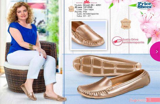 catalogo Price shoes  zapato confort 2015