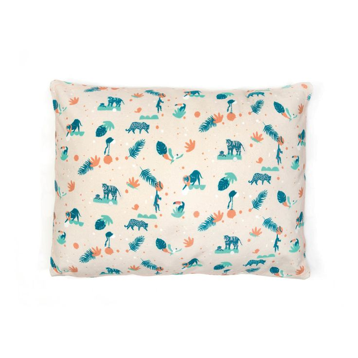 Wild Cushion 30x40cm MIMI'lou Children- A large selection of Design on Smallable, the Family Concept Store - More than 600 brands.