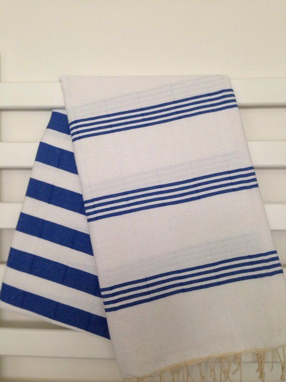 Sport Towel Peshtemal,100/% Cotton Turkish Bath Towel,Striped Beach Towel,Pool