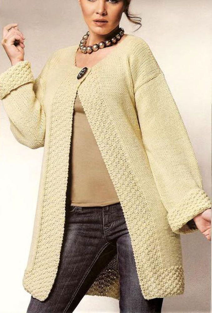 927e68ad8 Women s Hand Knitted Coat XS