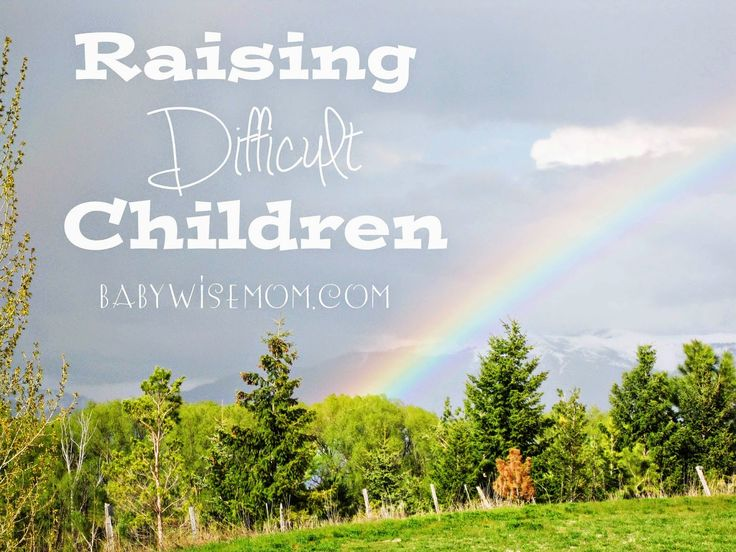 """Raising Difficult Children. Why do we sometimes have difficult children even when we seem to do everything """"right""""?"""
