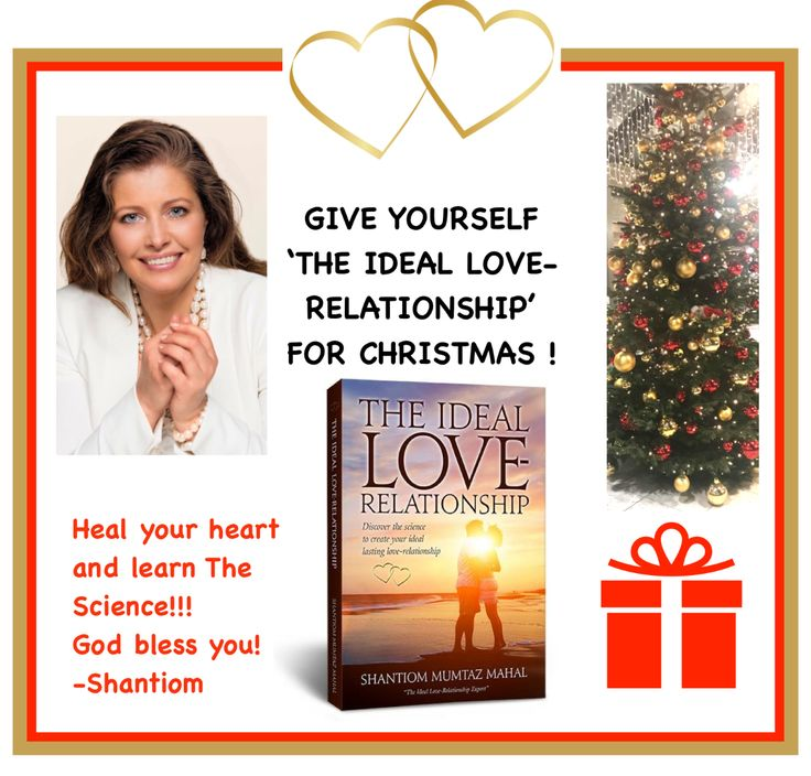 GIVE YOURSELF AND YOUR BEST FRIENDS THE BEST CHRISTMAS GIFT 💝 !!! Heal your heart and learn The Science!!! It's worth the effort to work towards the goal of experiencing 'The Ideal Love-Relationship'! Learn more in my book 'The Ideal Love-Relationship'. You can buy it at www.theideallove-relationship.com, If you live in The USA 🇺🇸 just click the big button. If you live in Sweden 🇸🇪, just click  United Kingdom 🇬🇧 or any other European country. If you live in Bhutan 🇧🇹 or India 🇮🇳…