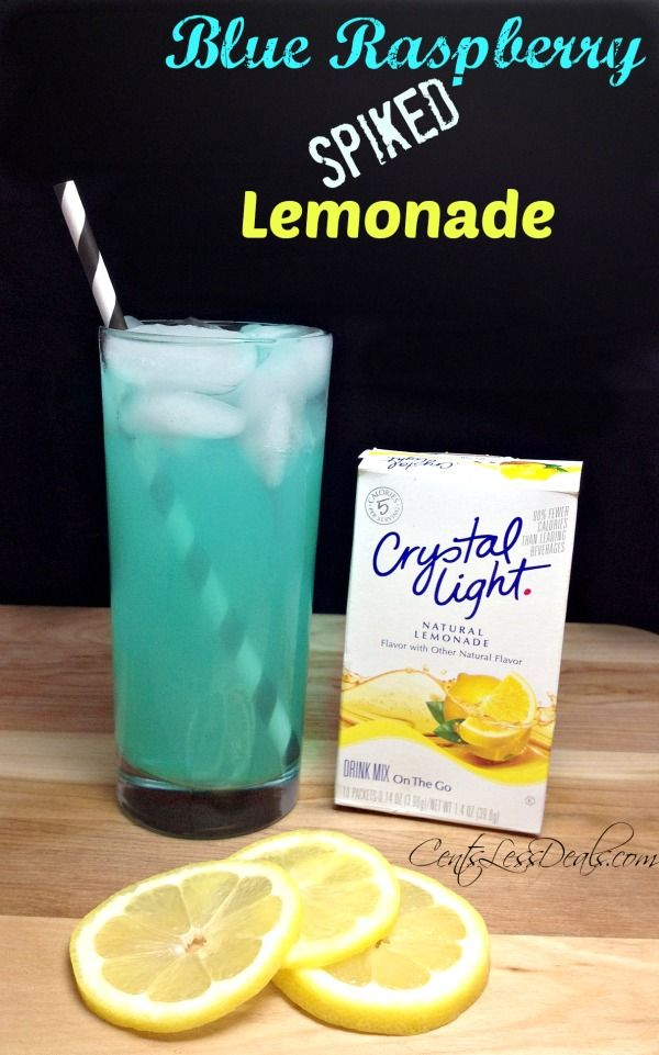 Spiked Blue Raspberry Lemonade recipe....I bet you can substitute hypnotic for the vodka or do half and half