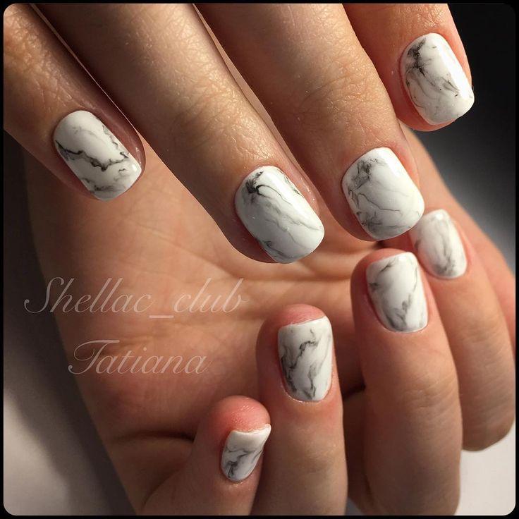 мрамор, ногти