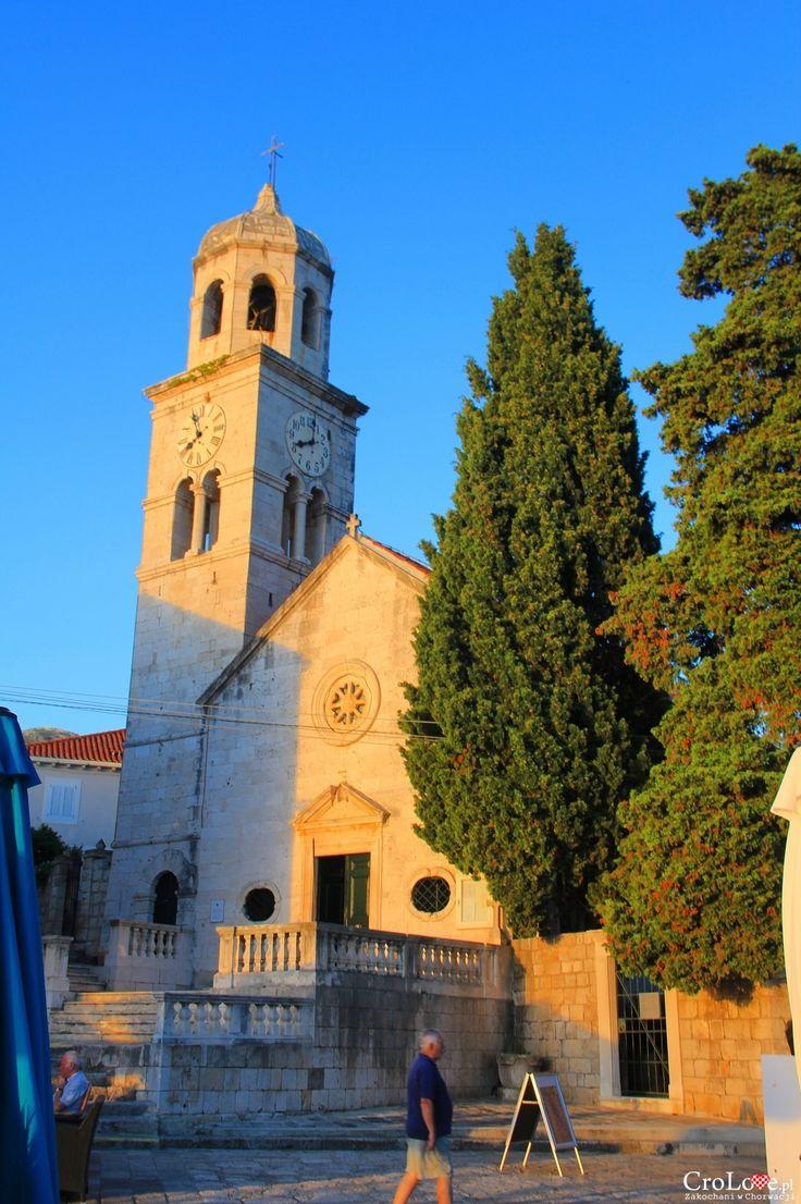 Kościół w. Mikołaja w Cavtacie || http://crolove.pl/cavtat-spokojne-i-urokliwe-miasteczko-w-poludniowej-dalmacji/ || #Cavtat #Dubrownik #Chorwacja #Croatia