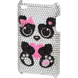justice ipod cases for girls | Panda Bling Ipod 4 Case cases - Polyvore