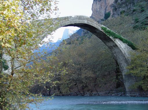 VISIT GREECE| Bridge in Konitsa, Epirus region! The most charming #season of the year is here! The #Greek countryside is waiting to reveal its secrets! Autumn, with golden brown foliage and mild temperature is the ideal time to visit Greece, if you are looking to experience the culture, local life, unique natural environments and sports!