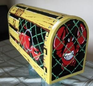 images of painted mailboxes | Hand Painted Mailboxes!! - Halifax Outdoor Décor For Sale - ... | Mai ...