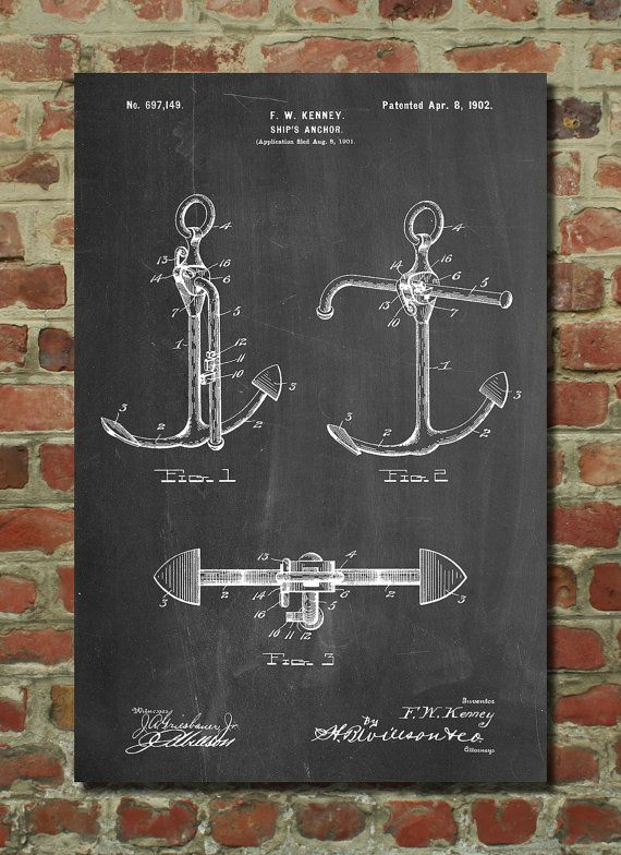 Vintage Anchor Wall Decor : Best vintage nautical ideas on