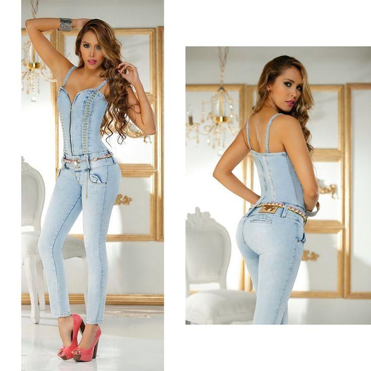 ,: Enterizo jeans colombiano | enterizo 2