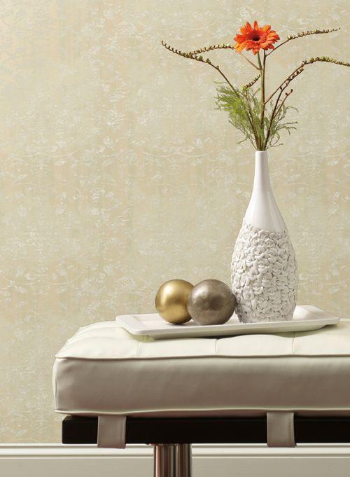 Wallpaper, vase, decor