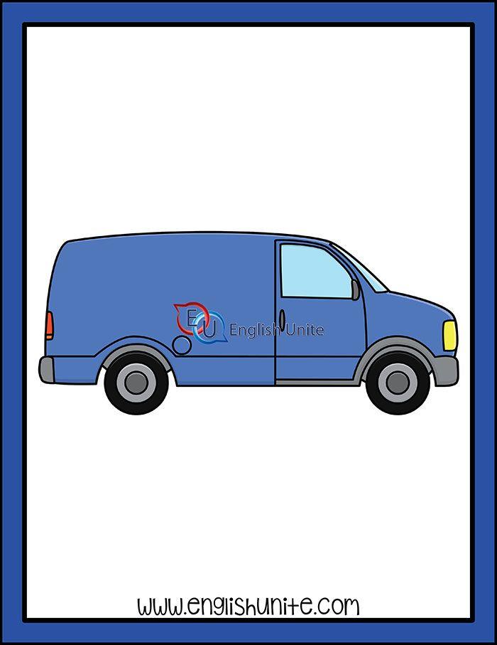 Alphabet Van Vans Art Van Clip Art