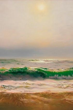 Matthew W Cornell (b.1964) ~ Seascape (Détail)