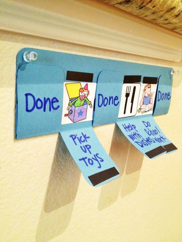 Love this household responsibility chart!