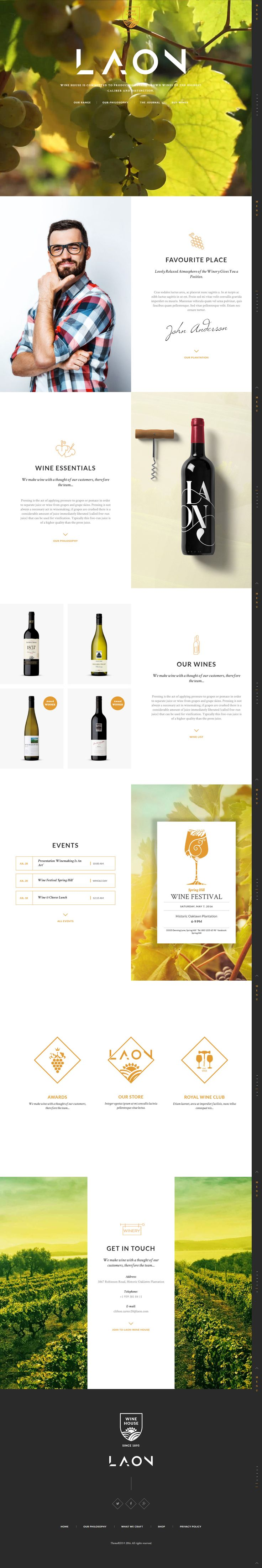 Laon is Premium Responsive Retina #WordPress eCommerce Theme. #WooCommerce. Visual Composer. Events #Calendar. Test free demo at: http://www.responsivemiracle.com/laon-premium-responsive-wine-house-winery-wine-shop-wordpress-theme/