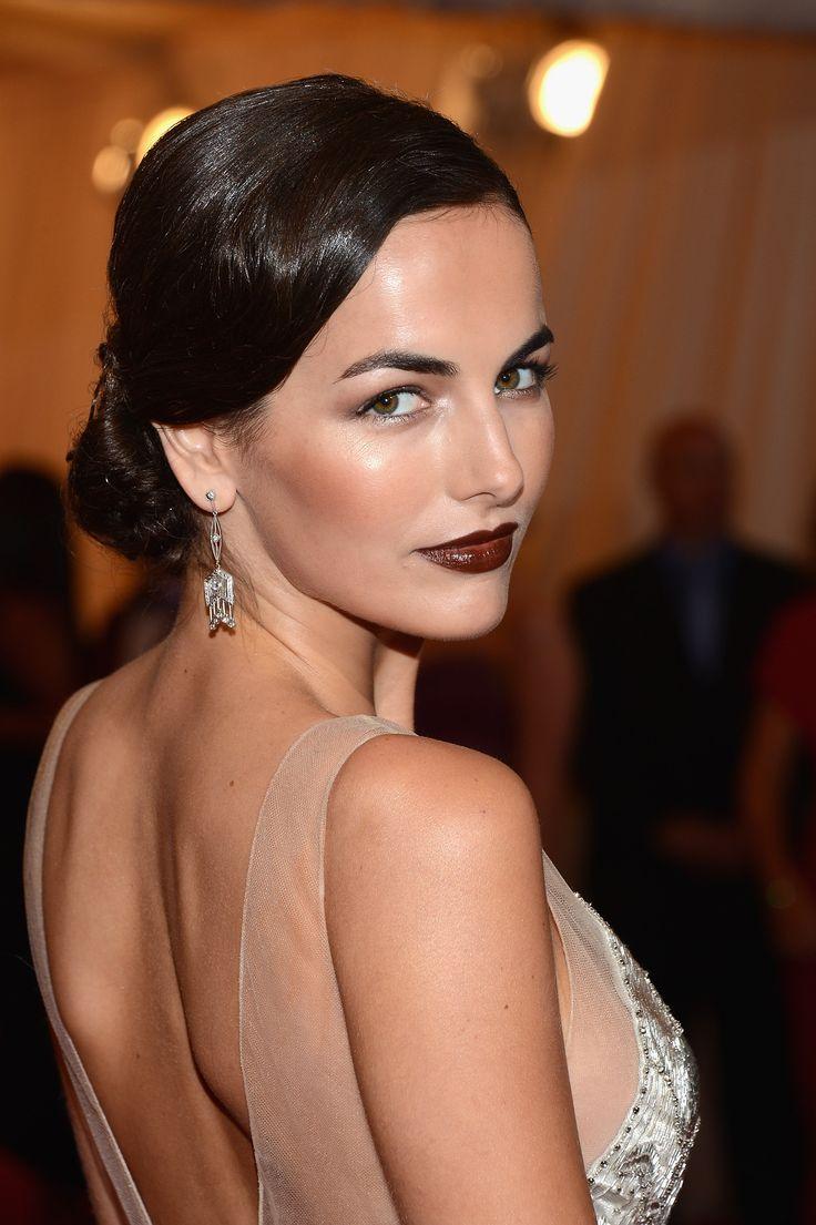 Porm celebrity hairstyles - Statement Lips At Www Breakfastwithaudrey Com Au Costume Institute Gala