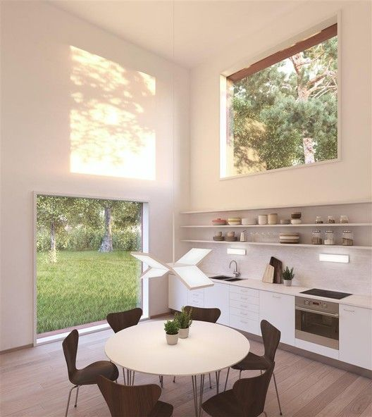 """Tham & Videgård Designs Sweden's """"Most Sought After Home"""",Kitchen. Image © Tham & Videgård"""