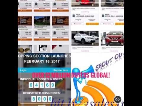 Hoping you'll love this... WOW! Sell Your Products Totally FREE To Over 12 Million Buyers Global https://youtube.com/watch?v=7Ol4EsNlnL0