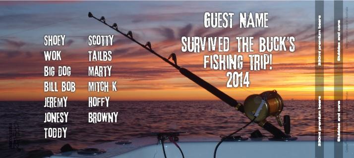 bucks stubby holders - fishing trip