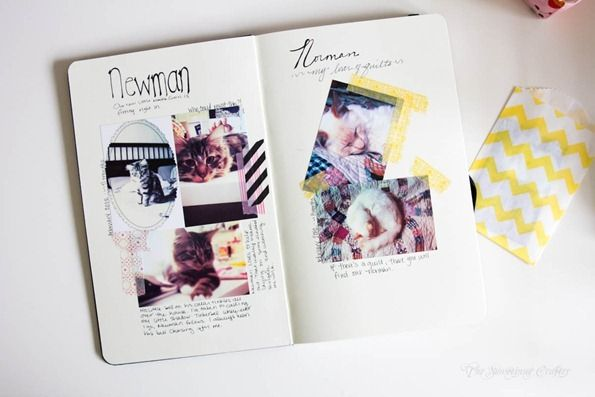 washi tape photo corners     #washitape#scrabooking