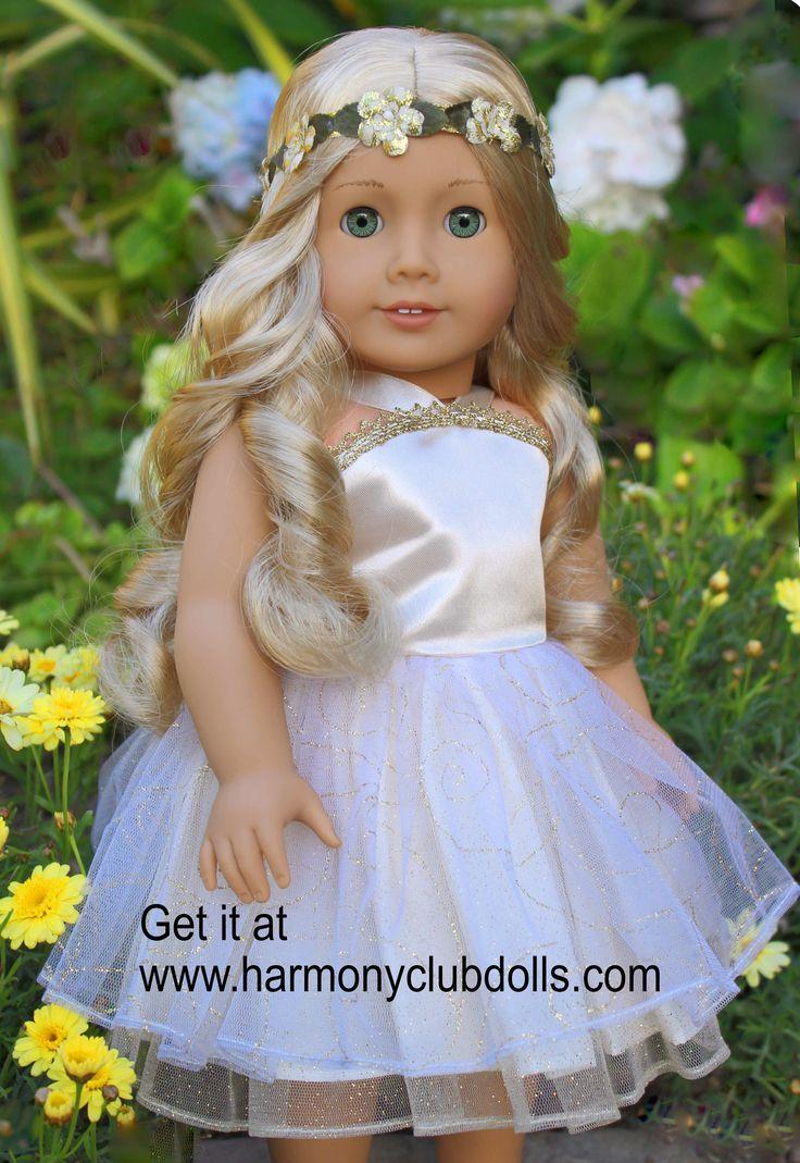 HARMONY CLUB DOLLS Fits American Girl Dolls www.harmonyclubdolls.com