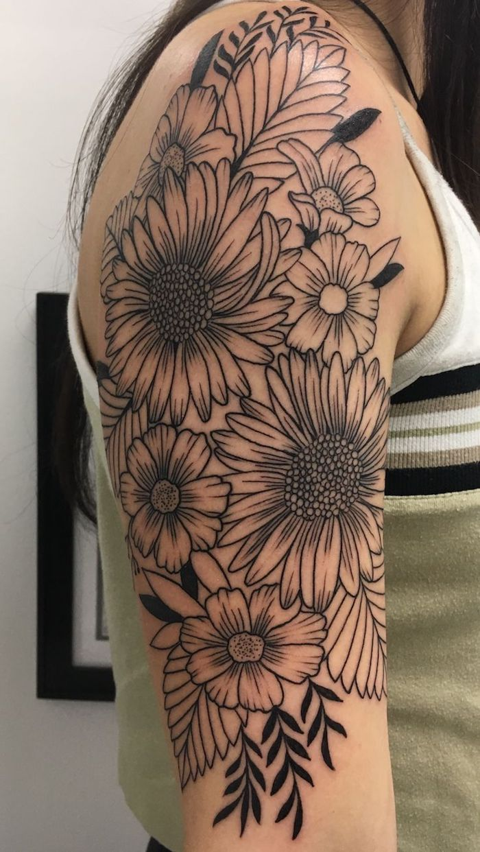 Over 90 Amazing Flowers Tattoo Ideas Carro Tatuajes Brazo