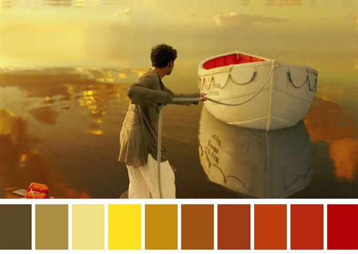 Las paletas de colores de grandes películas