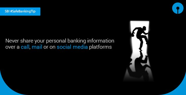 We respect our customers' privacy. We never ask our customers to share their personal banking information over a call, mail or on social media platforms. Never respond to such email/ SMS or phone call. In such instances it is always advisable to report to report.phishing@sbi.co.in. For details click https://retail.onlinesbi.com/retail/login.htm
