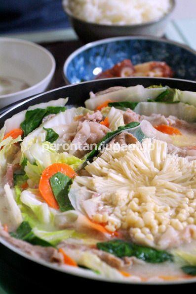 すっかり市民権を得た「白菜・豚肉鍋」を酒粕仕立てで♪ by P子さん ...