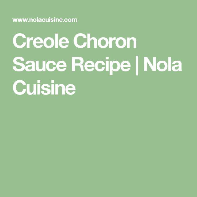 Creole Choron Sauce Recipe   Nola Cuisine